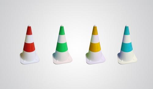 Traffic softcones