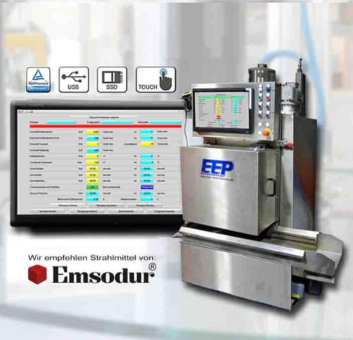 machine d'ébavurage cryogénique E30