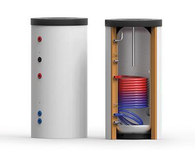 Edelstahl-Trinkwasser-Speicher EDS-1W 150 – 1000