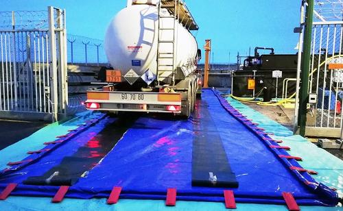 Bac de rétention pliable autoportant 27000 litres