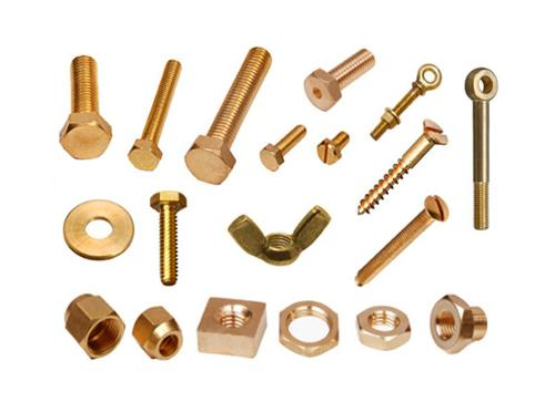 Brass Bolts, Nuts, Screw, & Washer
