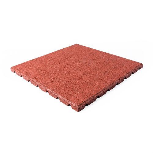 Terrassenplatte rot 50x50x2,5cm