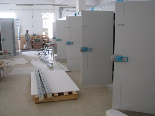chambres froides modulaires