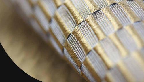 Furnishing silk
