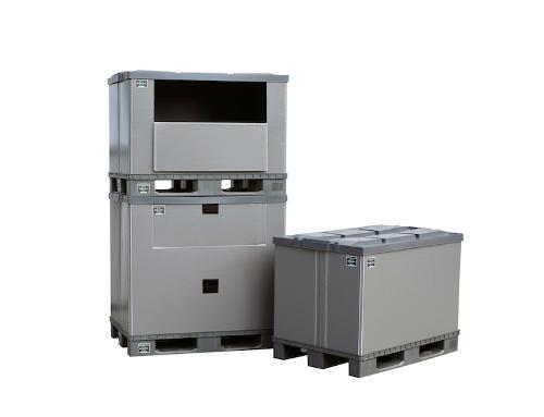 Palettenbox EuroBox Neu 1200x800x900mm Neu