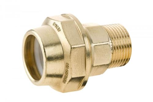 Pipe connector for plastic pipes
