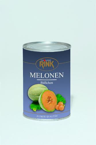 Melonenbällchen ,425 ml, leicht gezuckert