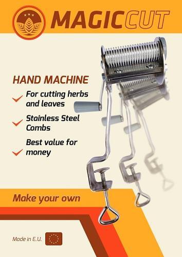 MAGIC CUT hand tobacco cutter