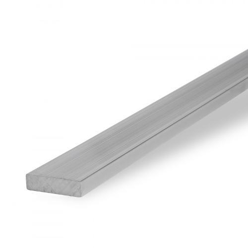 Aluminium flat, EN AW-6060 (AlMgSi0.5), 3.3206, anodised,T66