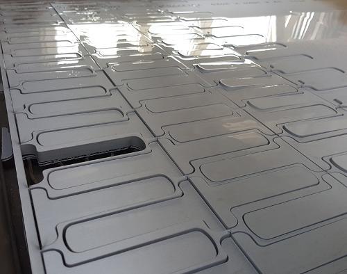 Vannstråleskæring, format opp til 4000 x 2000 mm