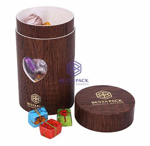 box tubo di carta