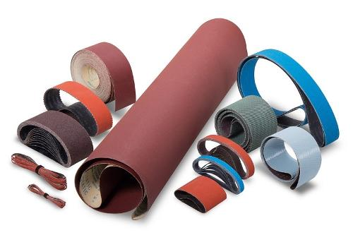 Coated Abrasives: Belts and Rolls