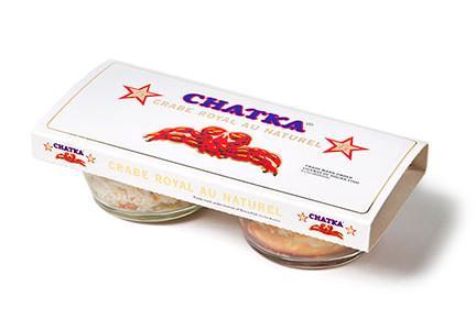 Crabe Royal au naturel duo 100% chair, 100% pattes