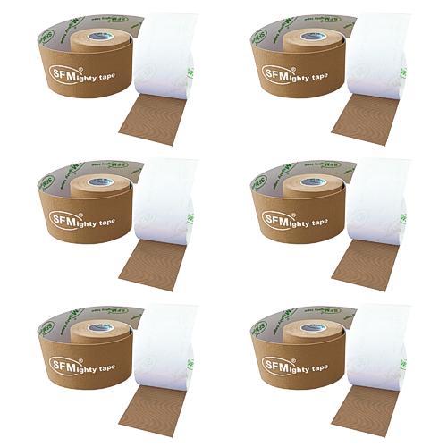 SFMighty Tape in Papierbox 5cmx5m Kinesiologie beige (6)