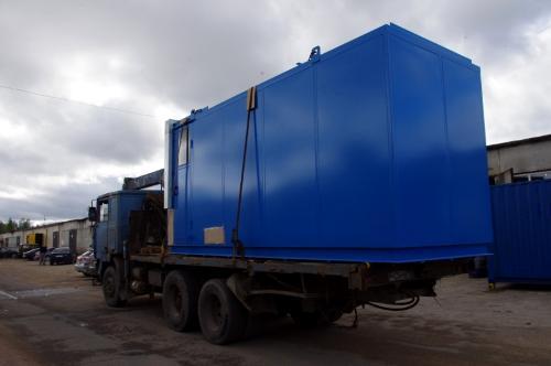 E-house, container