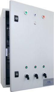 Architectural illumination control cabinet (AICC)