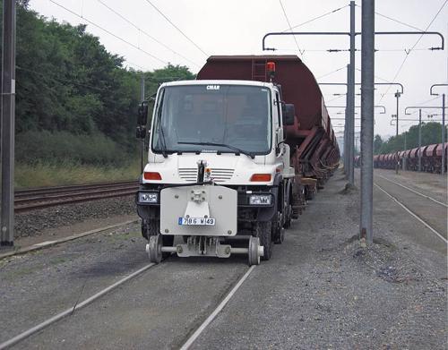 Véhicule Rail-route