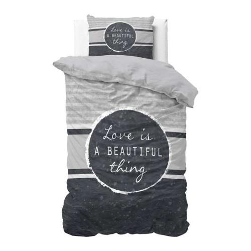 Cotton bed cover Beautiful Thing Navy - blue