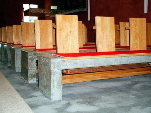 Kirchenbankheizkörper