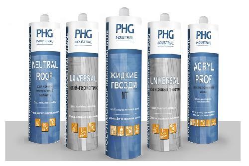 Герметики PHG Industrial ПолиХимГруп