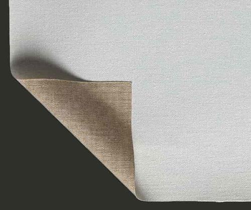Primed canvas Lanificio Prato Linen Fine