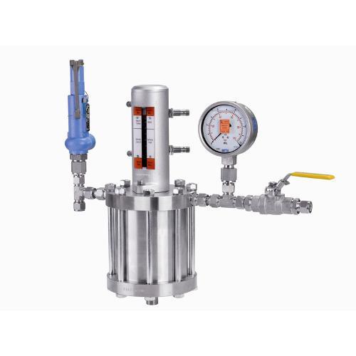Storage vessels - Pressure compensators for mechanical seals