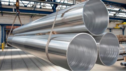 Kammergepresste Aluminiumrohre