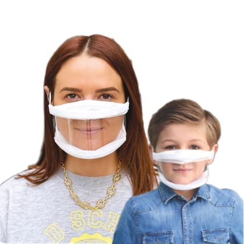 MASQUE TRANSPARENT ADULTE ET ENFANT
