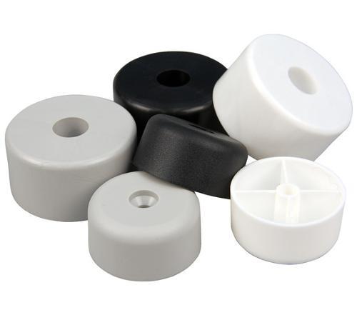 Möbelfüße aus Kunststoff rund