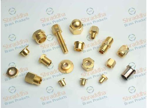 Brass Presicion Turned Milled Parts
