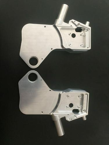 5-axis cnc milling metal part