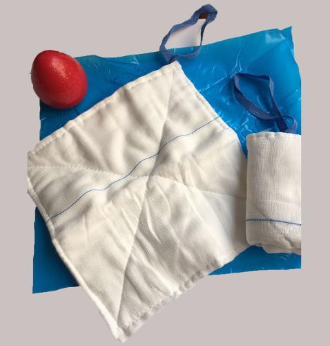 Abddominal Gauze Lap Sponges with natural cotton
