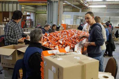 Atelier de conditionnement en emballage - Wallonie