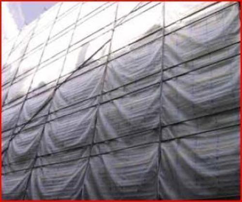 Filet d'échaffaudage anti-poussière130 gr/m²