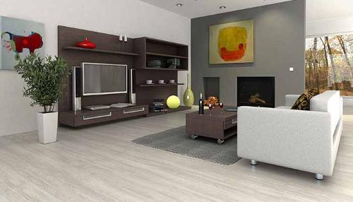 Heterogeneous/Homogeneous flooring
