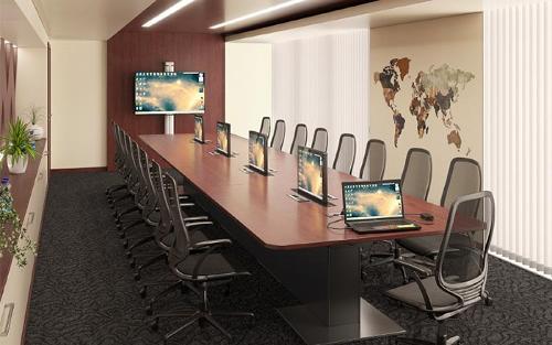 EGIC'MEETING, table de réunion connectée