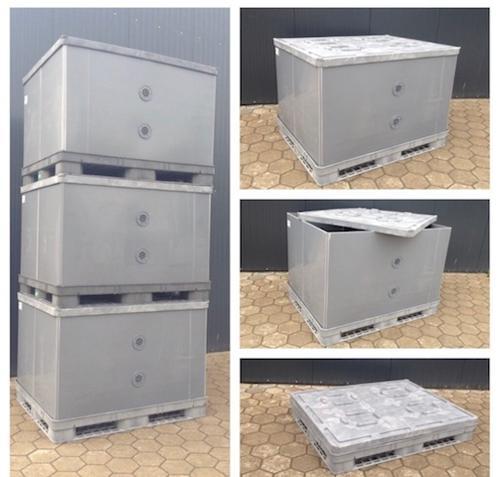 Palettenbox BigBox ca. 1440x1140x1100/ 1050mm 1x gebraucht