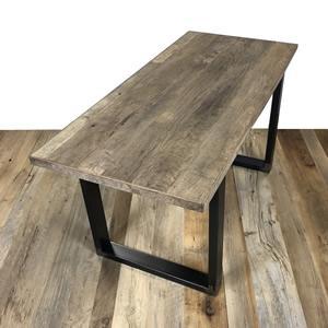 TABLE EN VIEUX BOIS Chene patina 1