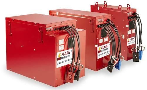 Batterie al litio macchine industriali