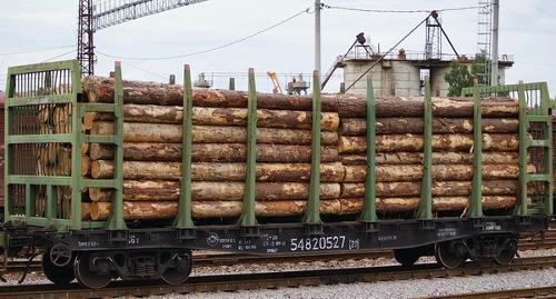 Аренда Ж/Д платформ для перевозки леса
