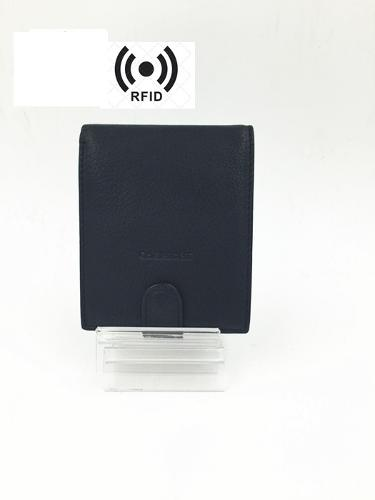 1348 Men's Leather RFID Wallet