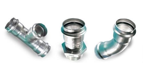 Edelstahl-Rohrleitungssystem NiroSan®